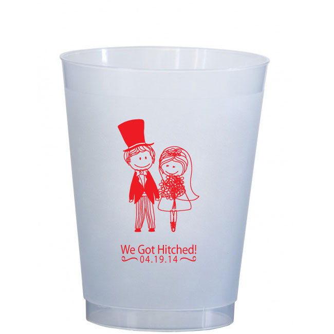 16 oz Frosted Cup